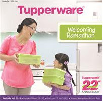 Tupperware Produk Promosi Welcoming Ramadhan