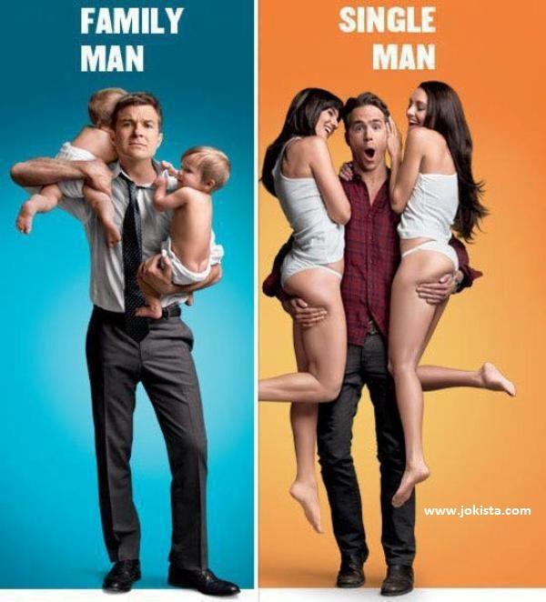 Family Man Vs Single Man