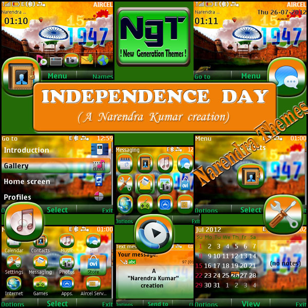 Narendra's Themes: Independence Day