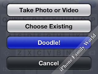 Doodle Message 0.3 - iphone family world | iphone family