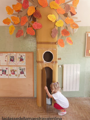 5 clever fall classroom decorating ideas for Apple tree classroom decoration