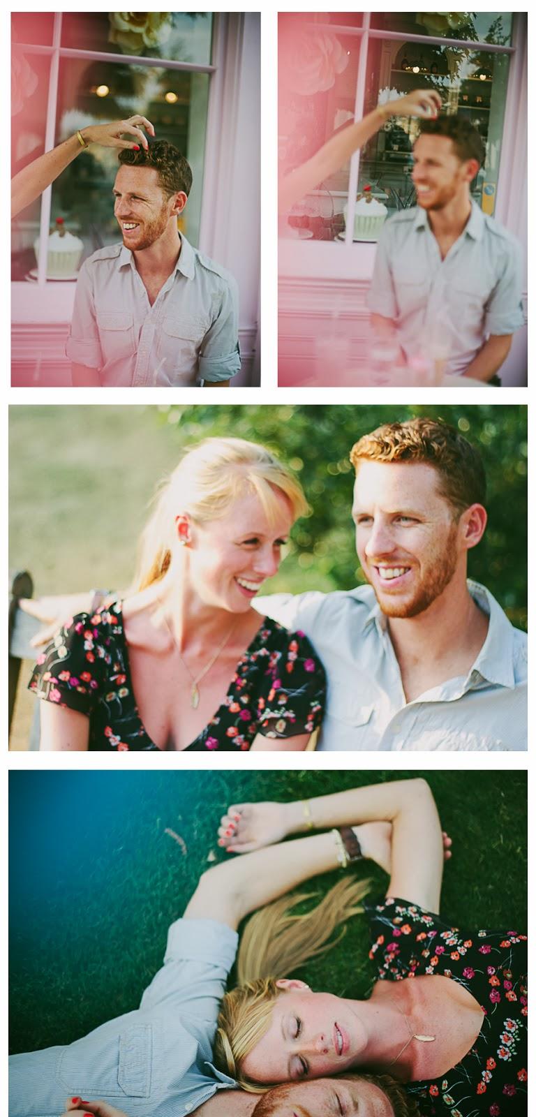 West London engagement session dreamy pastel destination wedding photographer