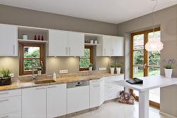 Küchenrenovierung - Einbauküche - neue Fronten