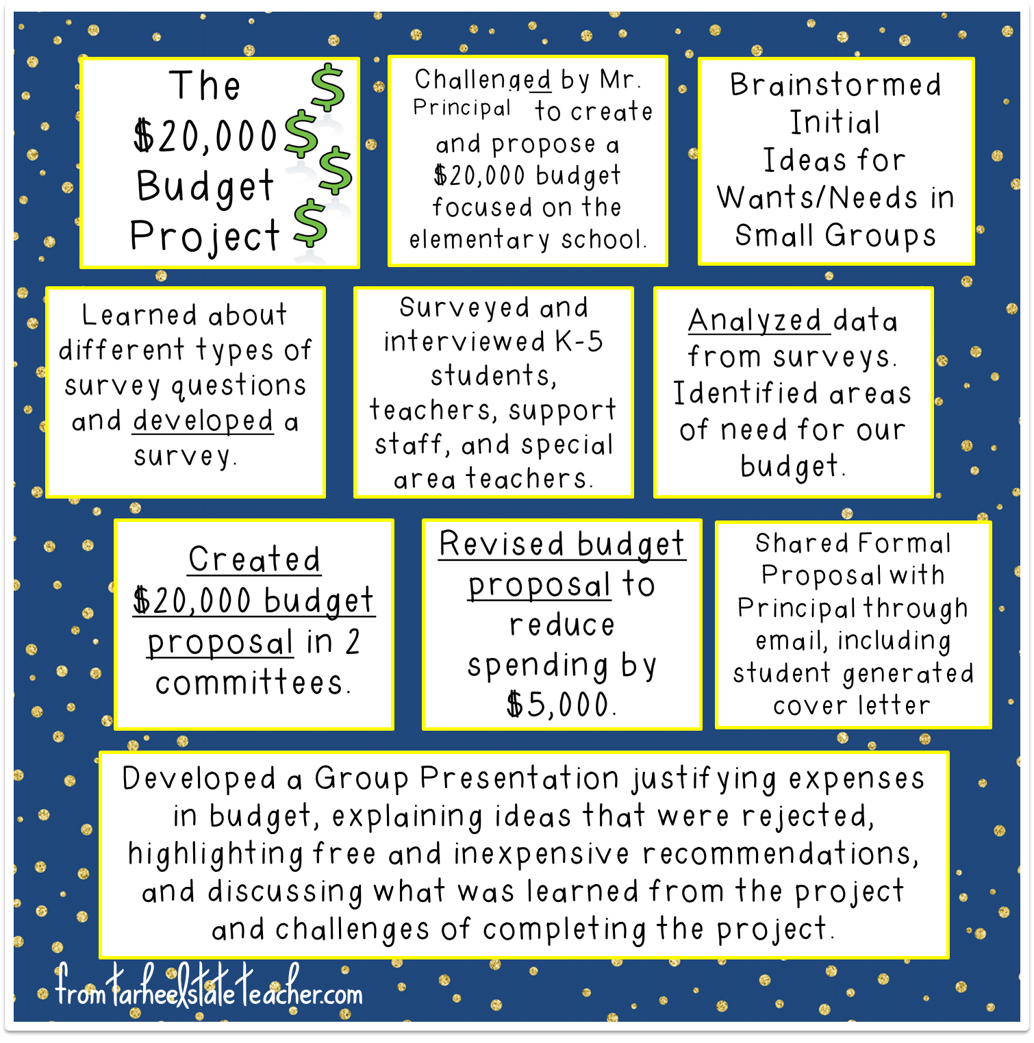 budget project for students