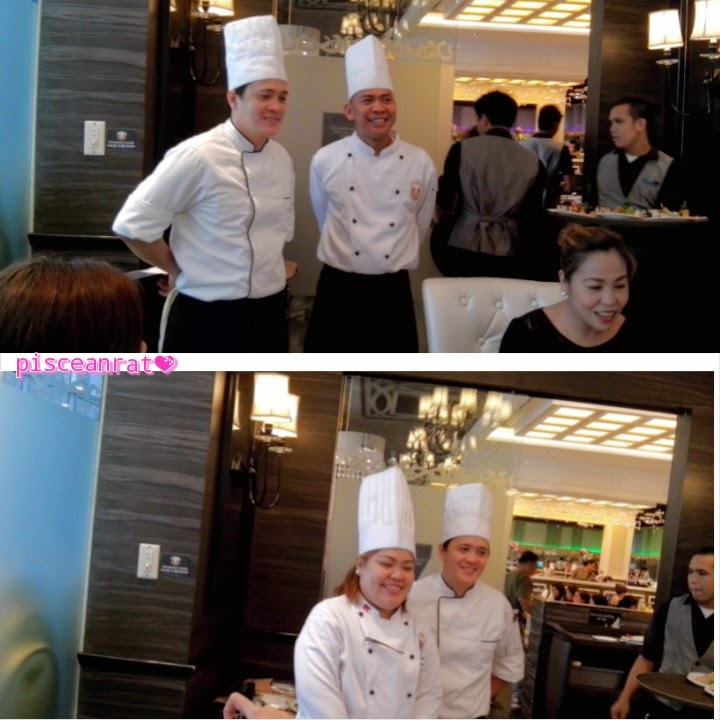 Executive Chef Jenny, (Italian, Western, Grilled) Sous Chef Ruel, (Japanese) Sous Chef Caloy, Assistant Marketing Head Ms. Raquel. vikings