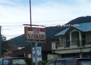 sate Mak Syukur Padang Panjang
