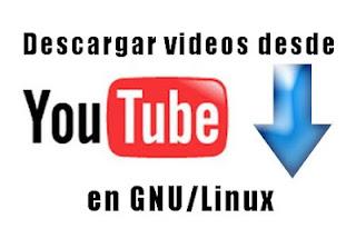 descargar vídeos desde youtube