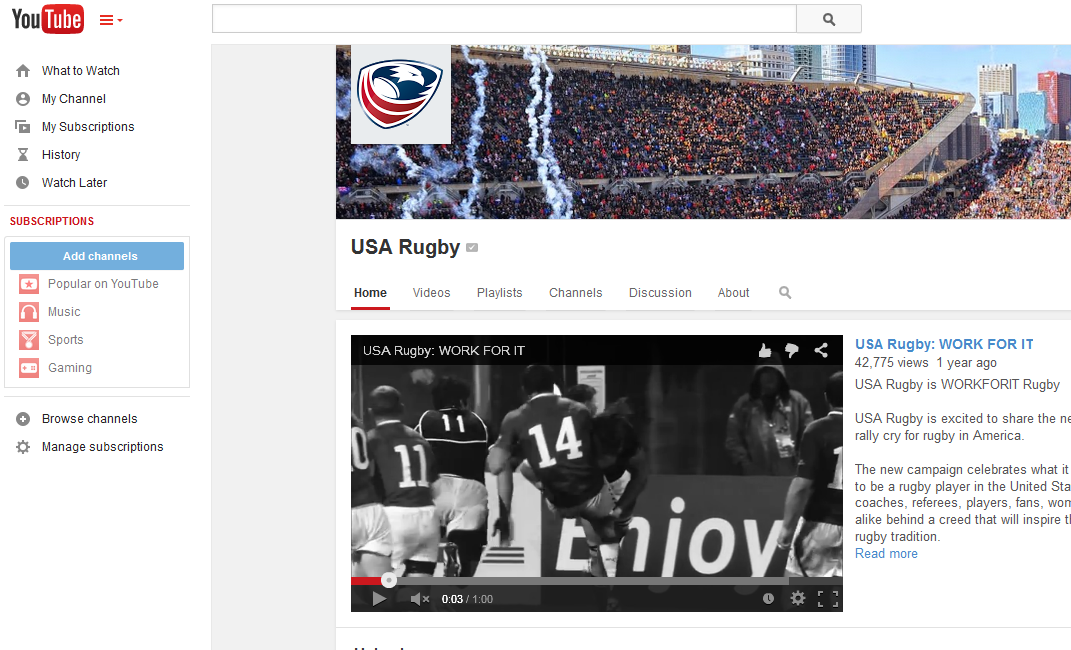 YouTube/USARugbyTV