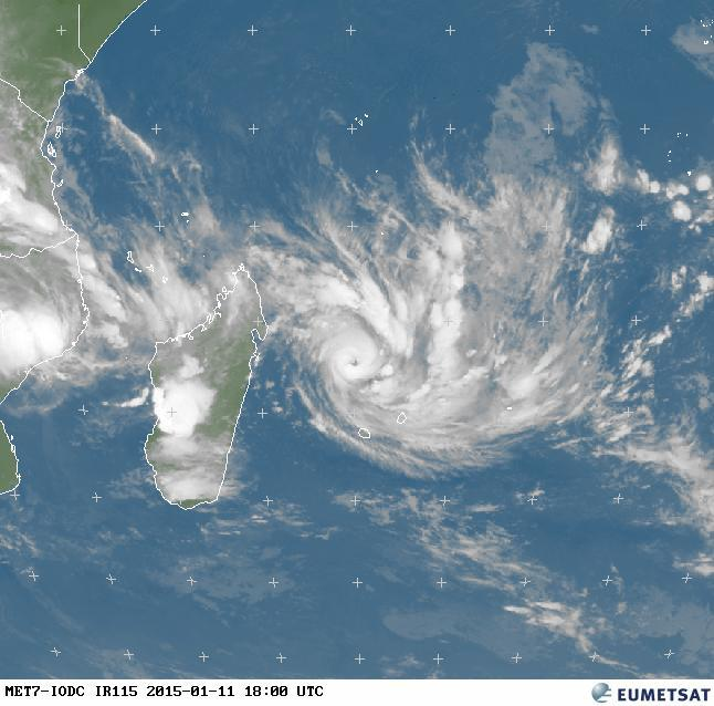 Cyclone tropical Bansi: le point à 22h
