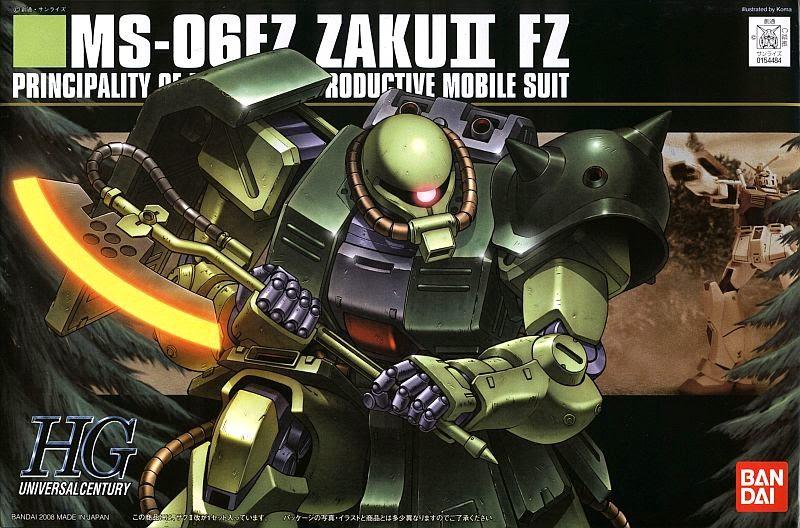 MS-06FZ Zaku II Kai