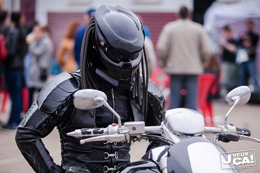 Casque De Moto Predator j'veux ça!: casque de moto predator
