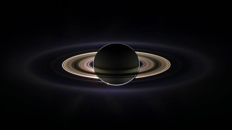 Edad de los anillos de Saturno