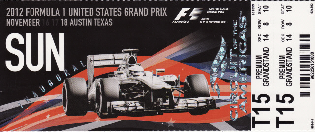 Formula 1 Austin Tickets >> No Fenders -Formula 1, IndyCar and A Whole lot more..: TexxArse Twister - Austin does F1 in ...