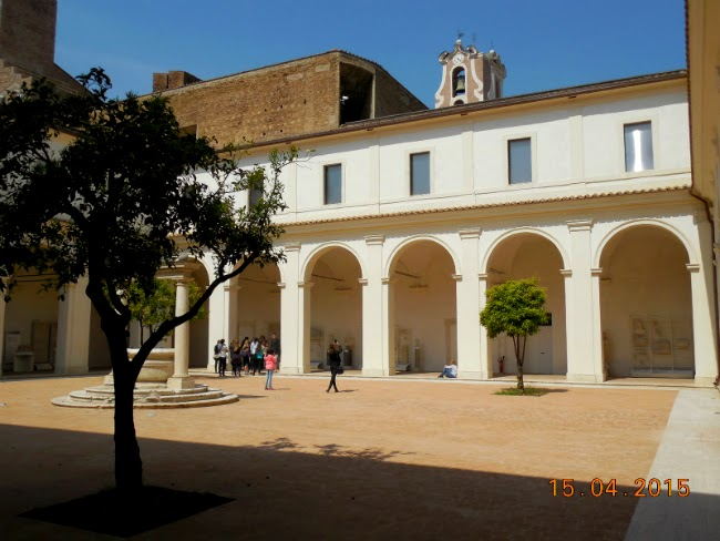 curtea interioara - Terme di Diocleziano