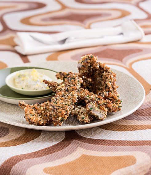 Beatties cookbook and food wine blog the food truck cookbook 2 almond crusted pork schnitzel forumfinder Image collections