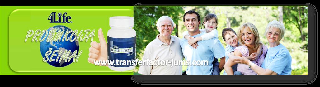 4Life Transfer factor produkcija