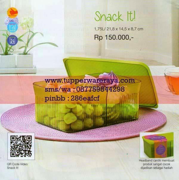 Katalog Tupperware Promo Januari 2015 Snack It