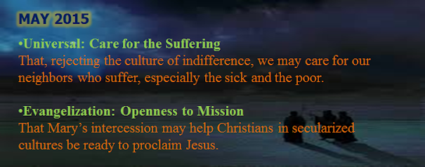 Holy Father's Prayer Intentions