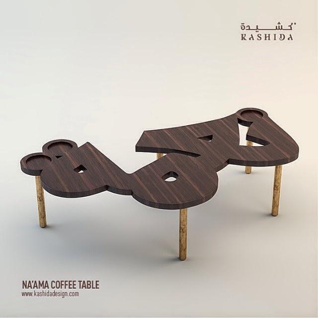 coffee table avant garde meets arabic