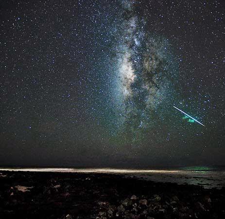 Meteor Perseid 2014