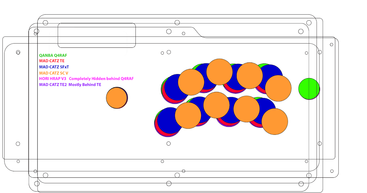 rob s blog button layouts for popular fightsticks