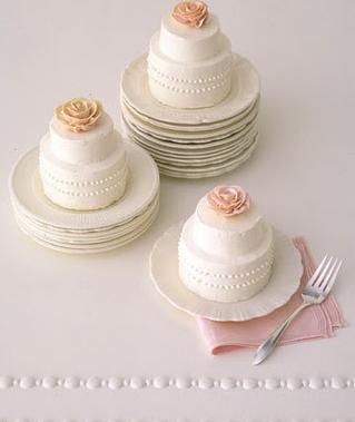 Fake Wedding Cakes 40 Cute Individual mini wedding cakes