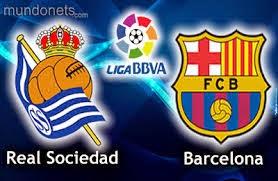 القنوات المفتوحة الناقلة للقاء برشلونة و ريال سوسيداد   الاحد 4-1-2015 real sociedad vs barcelona