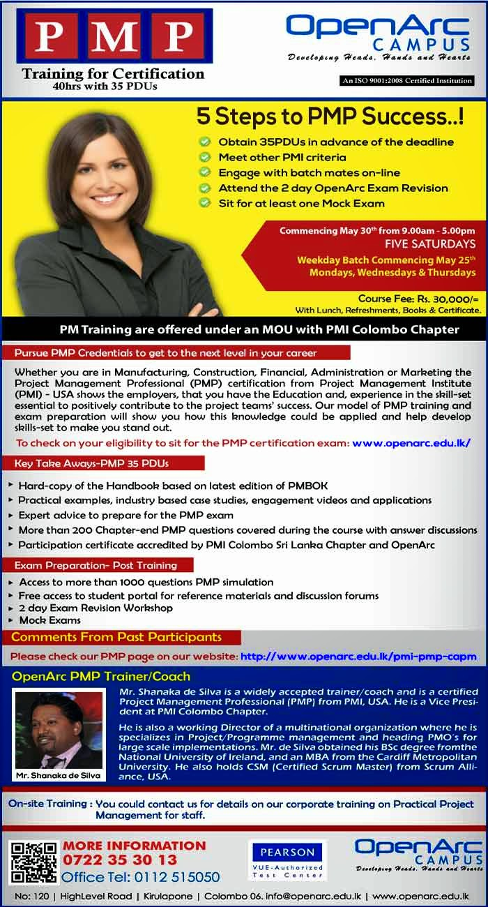 The PMI – PMP certification shows the employers that you have the Education and, experience in the skill-set essential to positively contribute to the project teams' success. PMP will show you how this knowledge could be applied and develop skills to make you stand out.