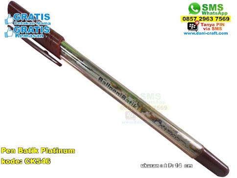 Pen Batik Platinum