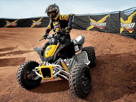 2012 Can-Am DS 90X ATV pictures. 480x360 pixels