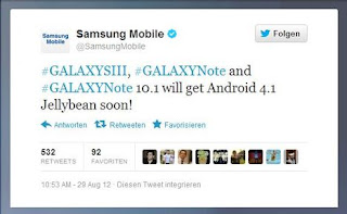 jelly bean release for galaxy s3