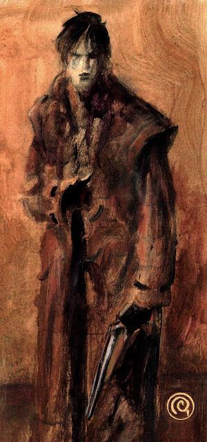 Massimo Rotundo: vetrina di tavole originali Poeta+guerriero+1