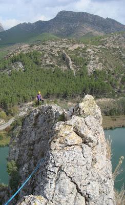 Cresta del Pic de Gelis. Sant Llorenç de Montgai