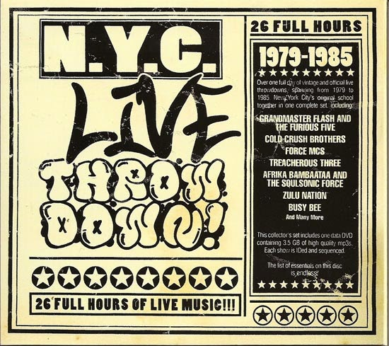 Various Artists – NYC Live Throw Down: 1979-1985 (2007) (DVD) (320 kbps)