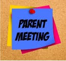 Parent Meeting Notes!