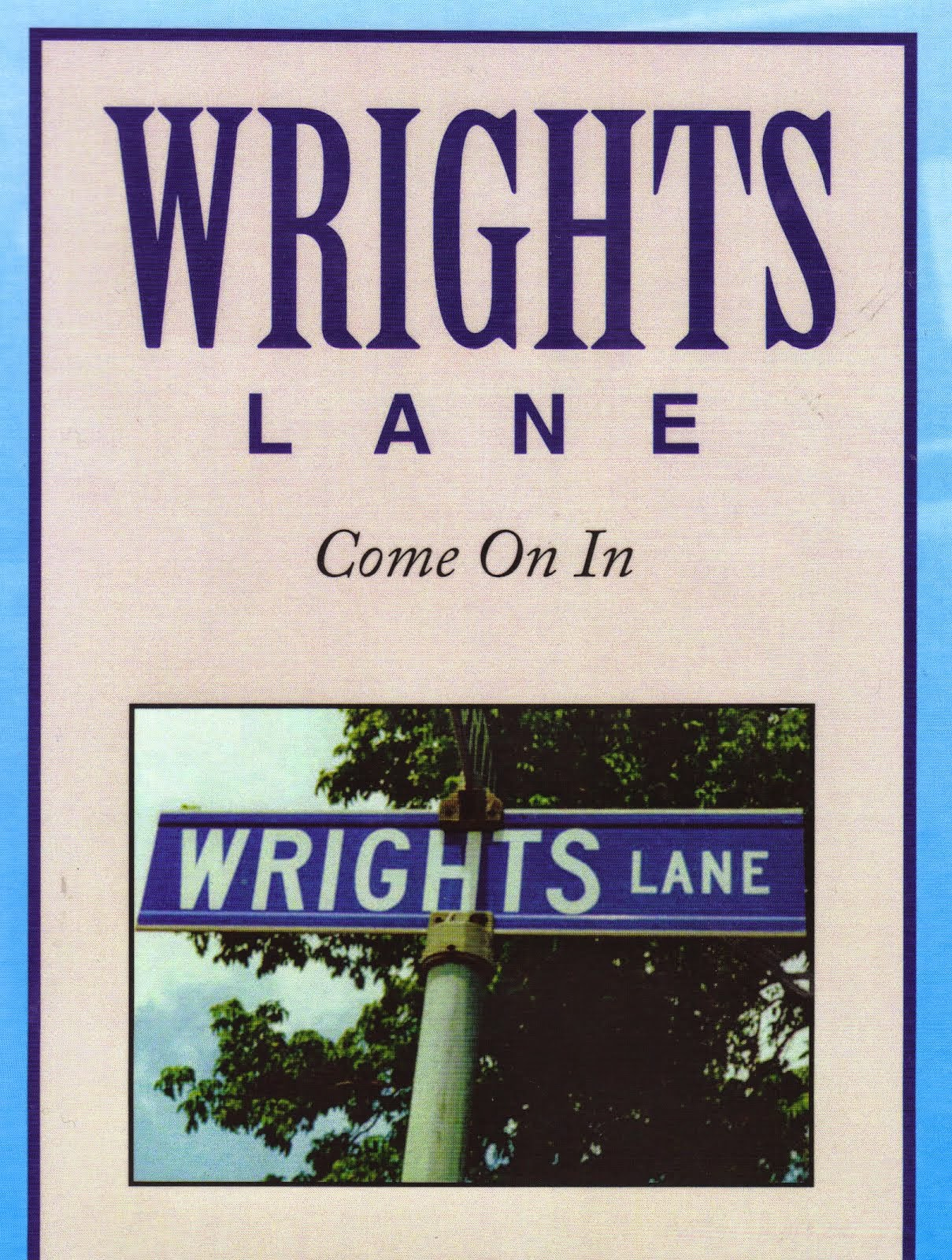 Corner of North Street (Hwy. 21) and Wrights Lane in Dresden (cover of book by the same name)