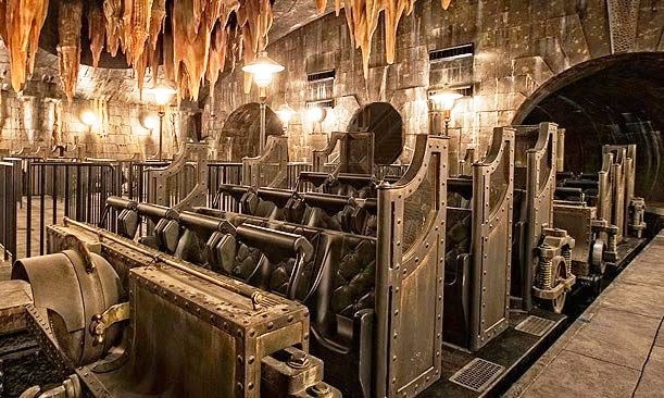 Harry Potter and the Escape from Gringotts em Orlando