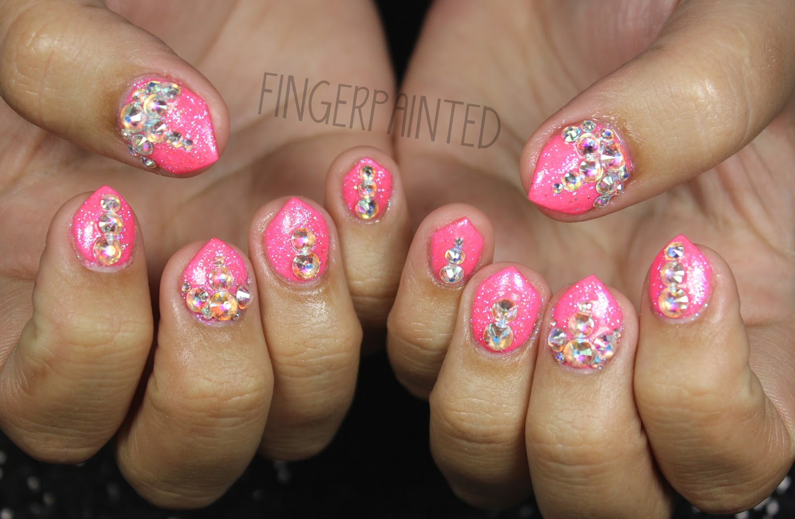 Finger Painted