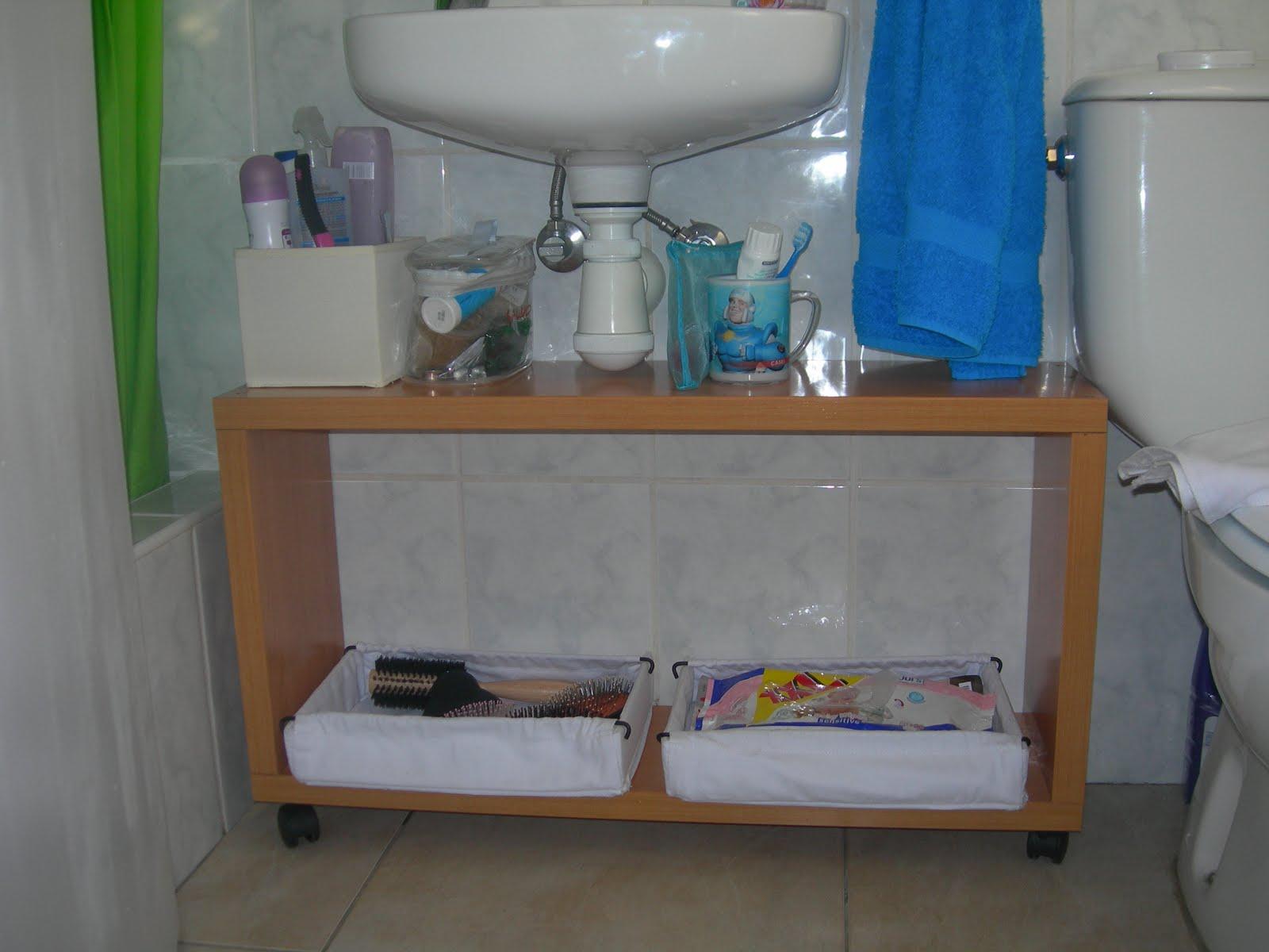 Bricolaje hazlo tu mismo final mueble bajo lavabo for Mueble bajo lavabo carrefour