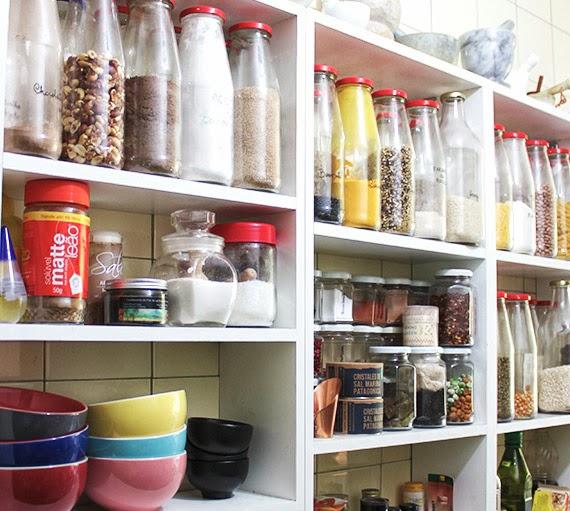 Coisa minha casa mais ideias para organizar a cozinha - Como organizar armarios ...