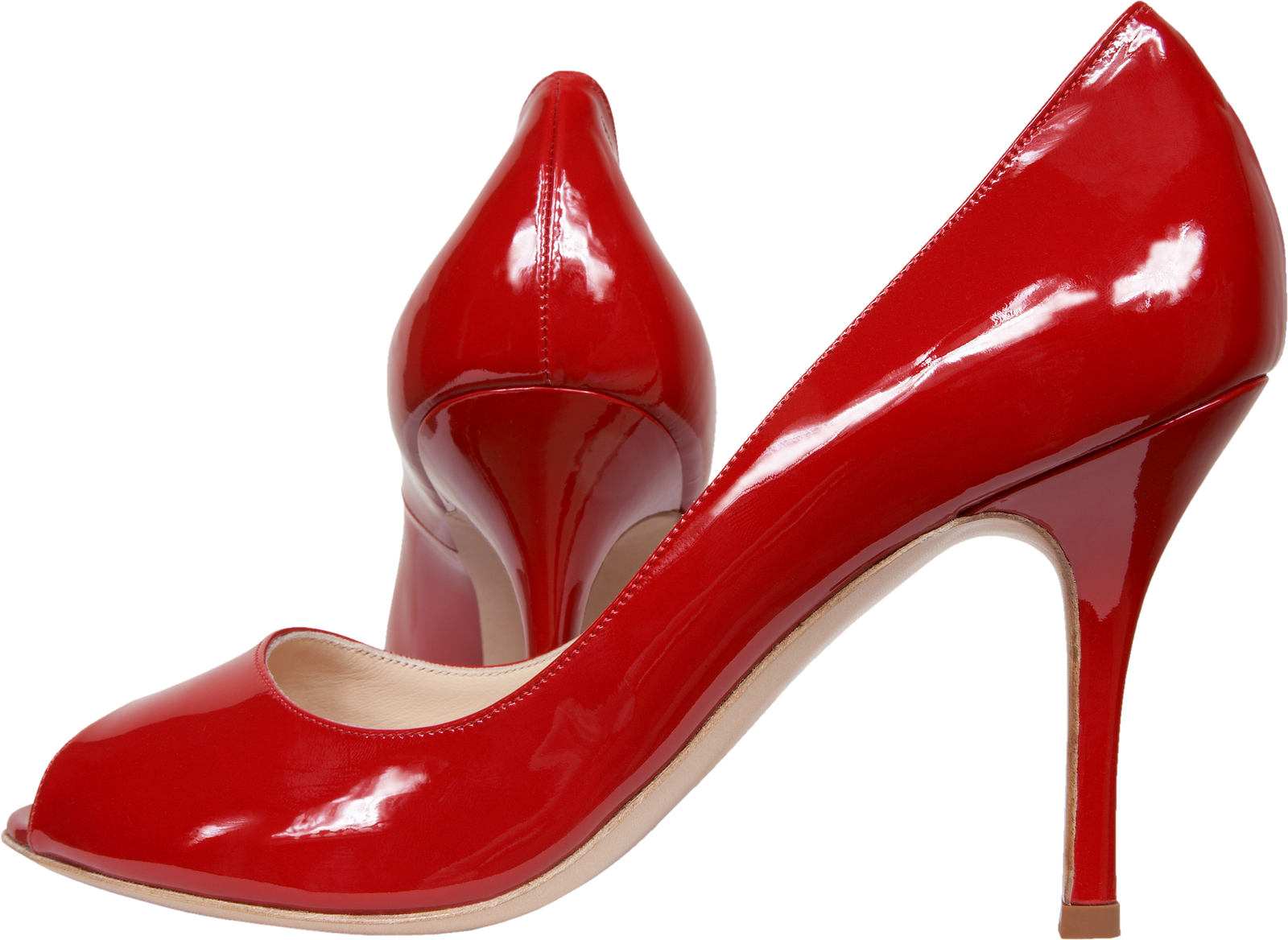 free cut outs red high heel shoes. Black Bedroom Furniture Sets. Home Design Ideas
