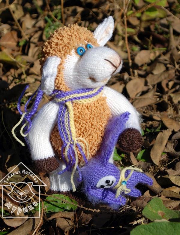 овечка, кукла, игрушки, подарок, новый год 2015 , мурико