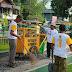 Oprasi Semut, Bersih-bersih lapangan Tugu Pangkalan Bun...