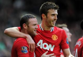 Jelang Everton vs MU: Rooney dan Carrick Siap Main