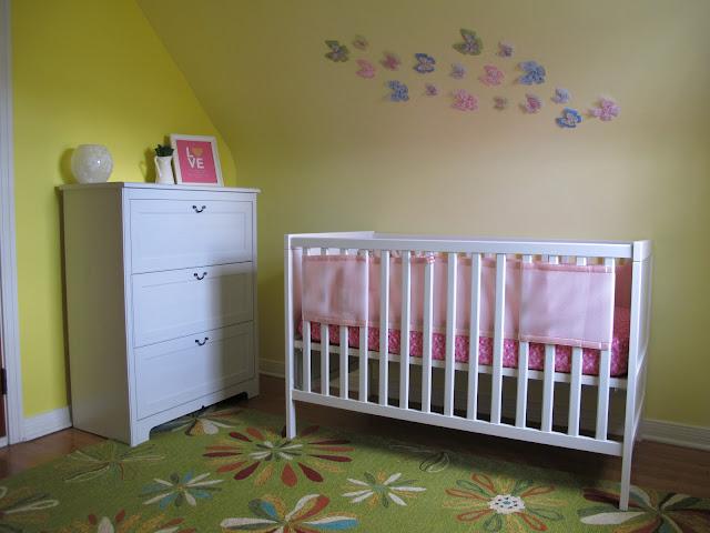 Stella's Lovely White Crib