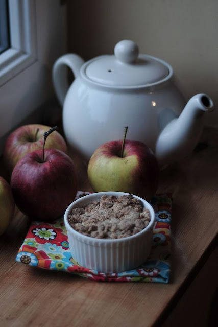 ciastko jabłkowe apple crumble