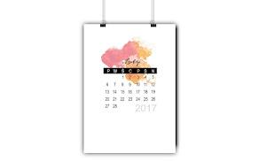 Kalendarz na luty do wydrukowania