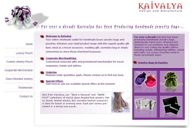 Kaivalya.Com - Foot Jewelry Exclusive