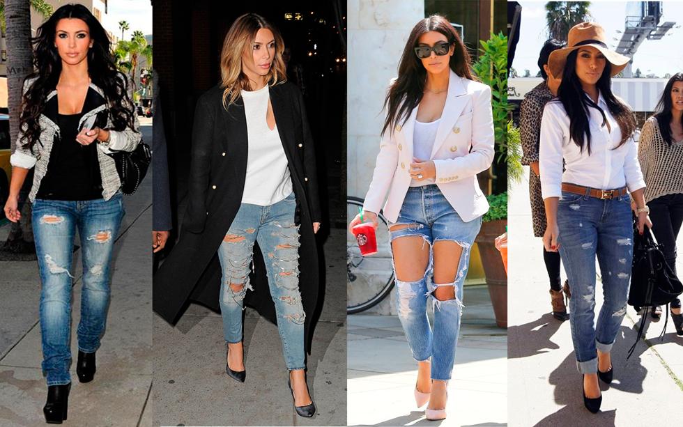 Estilo, famosa, look, Kim Kardashian
