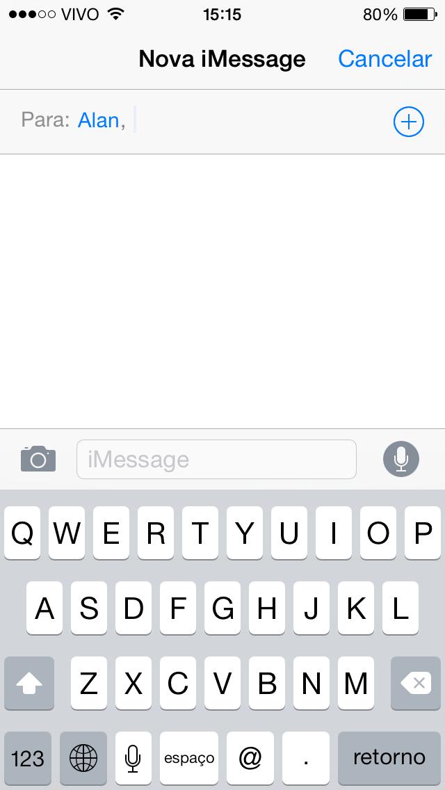 Mensagens iOS 8